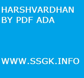HARSHVARDHAN BY PDF ADA