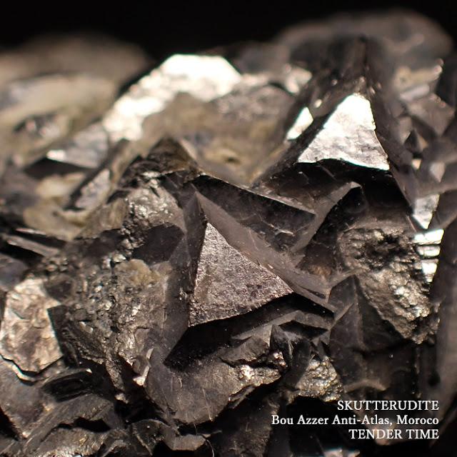 スクテルド鉱 スクッテルド鉱 方砒コバルト鉱 Skutterudite Bou Azzer Anti-Atlas Morocco