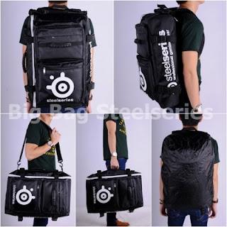 Gaming Bag - Tas Gaming BIGBAG Backpack - Steelseries