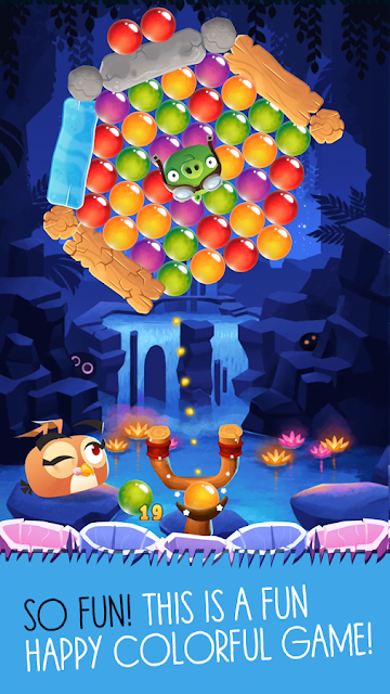 Angry Birds POP Bubble Shooter Apk v3.27.1 (Mod Gold/Live/Boost)  Latest Version 2018
