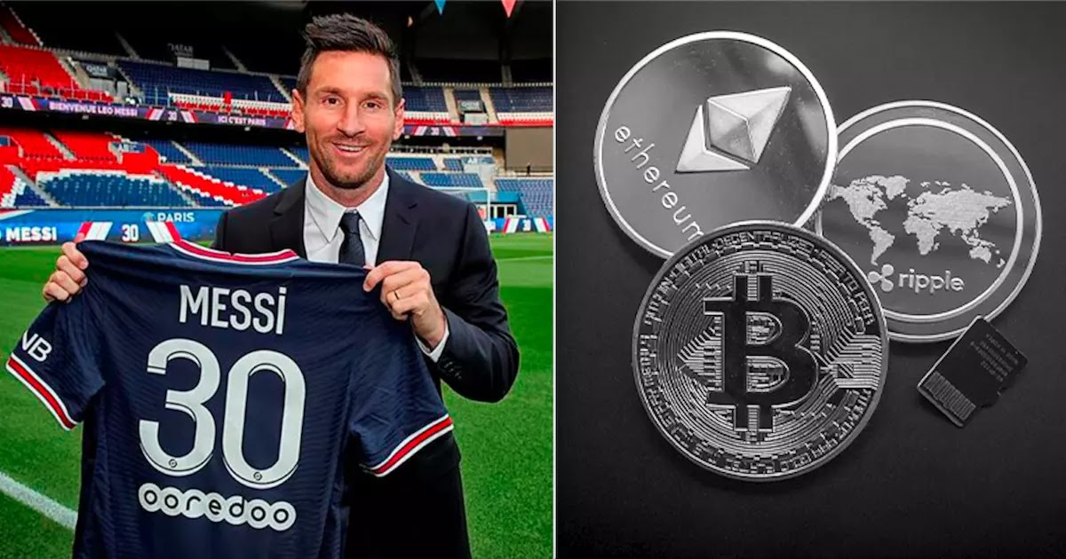 Lionel Messi Will Received Around 30 Million Euros Worth Of Cryptocurrency From Fan Tokens As Part Of The PSG Fee