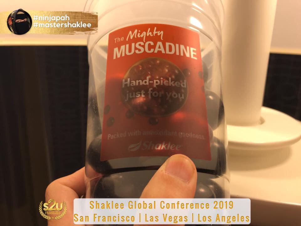 muscadine grape saiz vivix shaklee