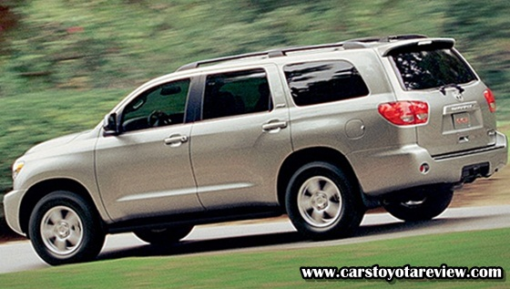 2017 Toyota Sequoia Review - Properly Named After