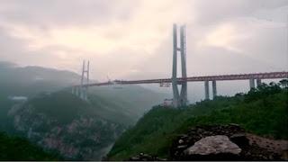 Il ponte più alto del mondo, è pronto in Cina