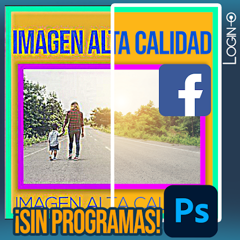 Sube imágenes a Facebook sin perder calidad y sin distorsión - ¡Sin usar programas! - SOLUCIÓN 2021