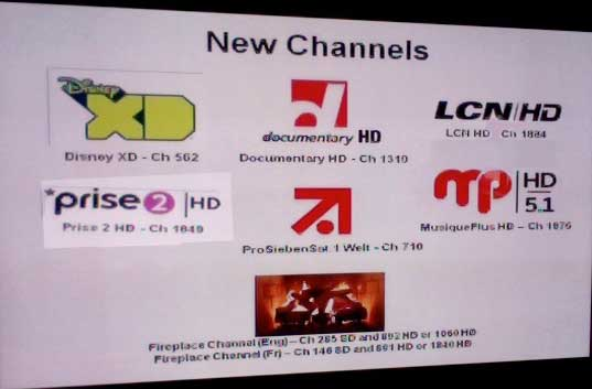 We Connect you with the world: New Channels November 2012 ...