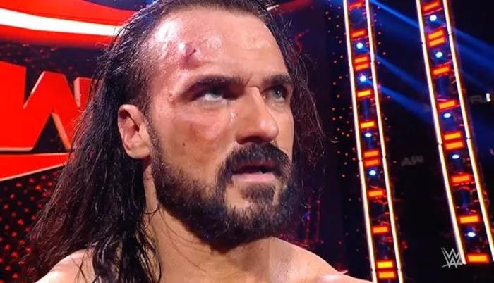 Detalhes sobre o sangramento de Drew McIntyre no WWE RAW