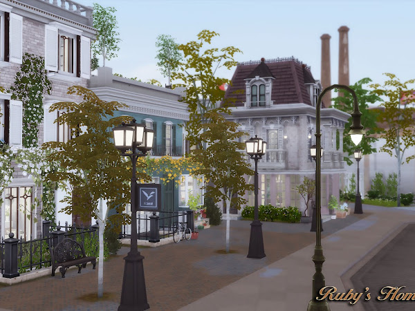 Sims 4 Downtown Apartments 城市樂活