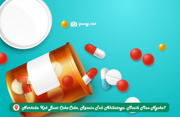 Narkoba Kok Buat Coba-Coba, Rasain Tuh Akibatnya. Masih Mau Nyoba?