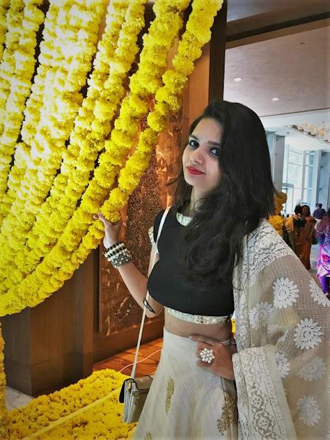 Golden Lehenga, Wedding Outfit, OOTD, Traditional, Women's Wear