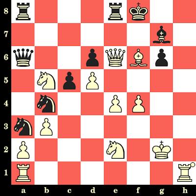 Les Blancs jouent et matent en 4 coups - Campbell vs D Spigel, USA, 1989