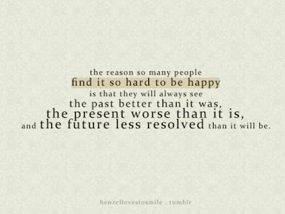 Το κυνήγι της ευτυχίας.