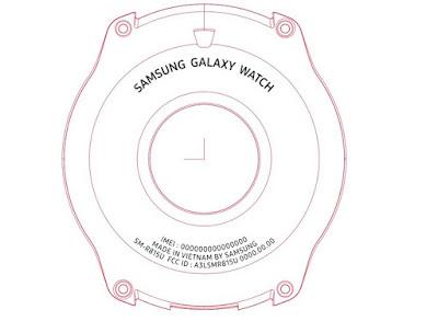 Samsung galaxy watch FCC document
