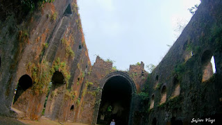 The ruins of Vasai Fort.