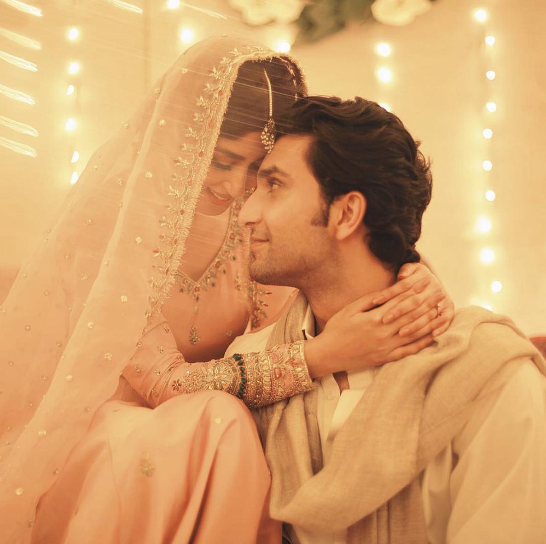 sajal ali wedding pics