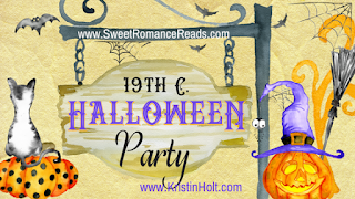 http://www.sweetromancereads.com/2017/10/19th-c-halloween-party-by-kristin-holt.html