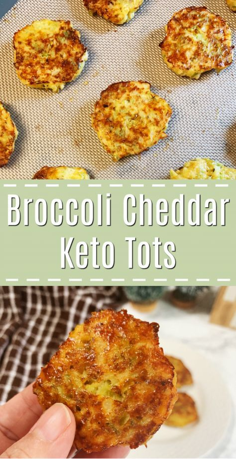 BROCCOLI AND CHEDDAR TOTS -KETO