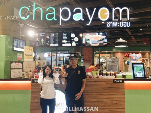 Makan di Chapayom Thai Premium Tea and Bites!