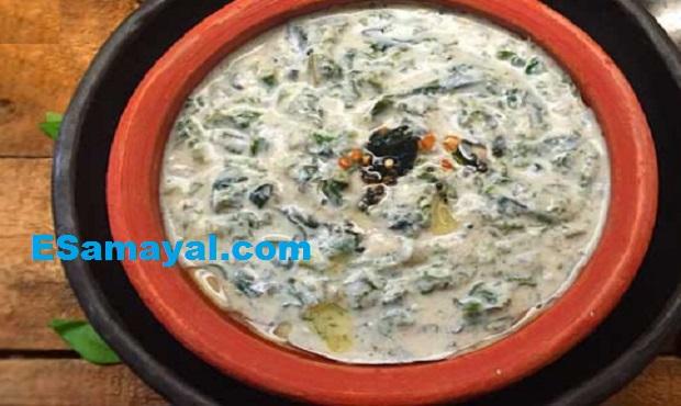 கீரை தயிர் பச்சடி செய்வது ! Yogurt Spinach Pachadi Recipe !