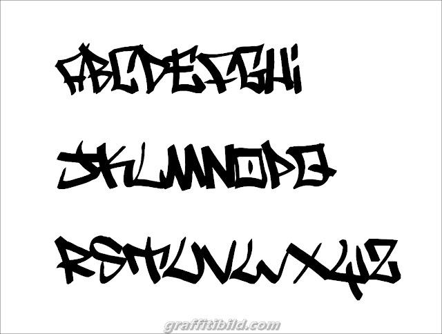 graffiti tags ideas, graffiti fonts abc