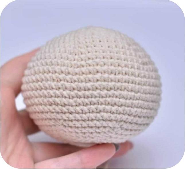 Crochet gnome tutorial head