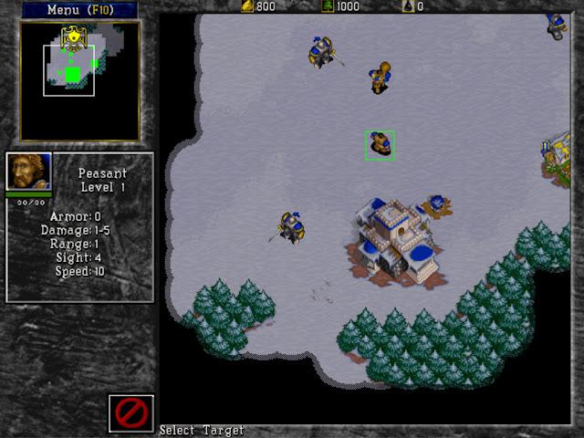 Warcraft 2 Peasant Screenshot