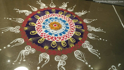 Circle Rangolis