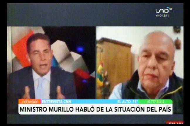 Murillo: Salir y meter bala sería lo políticamente correcto pero no lo vamos a hacer
