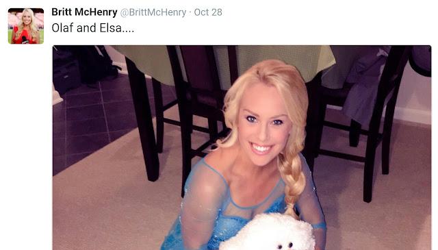 Britt McHenry's Halloween Costume Has Me Frozen Solid - Krusty Sox ...