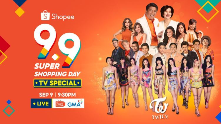 K-Pop group TWICE, Php 11-M prizes at Shopee 9.9