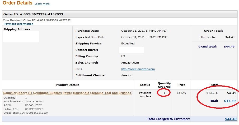 d4624508b50f57 My average profit on this item was  24. Total profit was  24 x 45    1