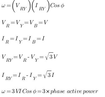 3-φ Power