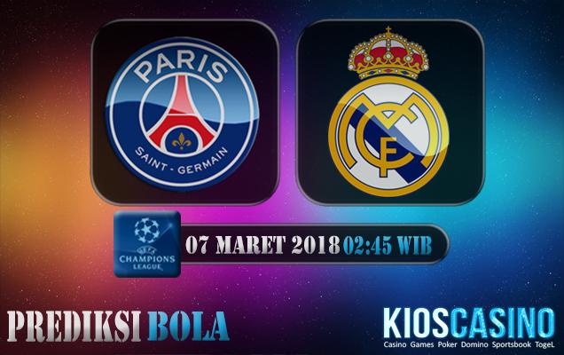 Prediksi Skor Paris Saint Germain vs Real Madrid 07 Maret 2018