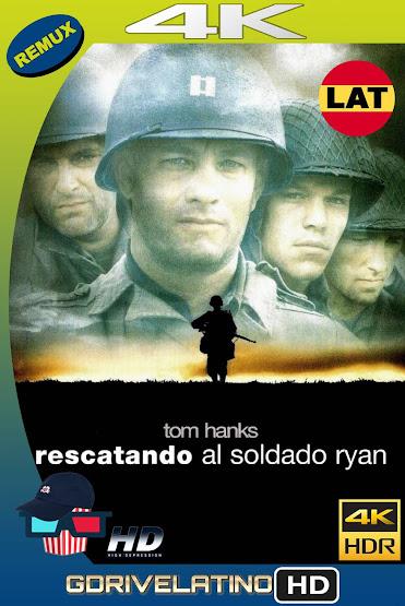 Rescatando al Soldado Ryan (1998) BDRemux 4K HDR Latino-Ingles MKV