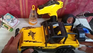 Solusi Mainan Mobil Remote Kontrol Jeep Tidak Bisa Mundur Iwansadja