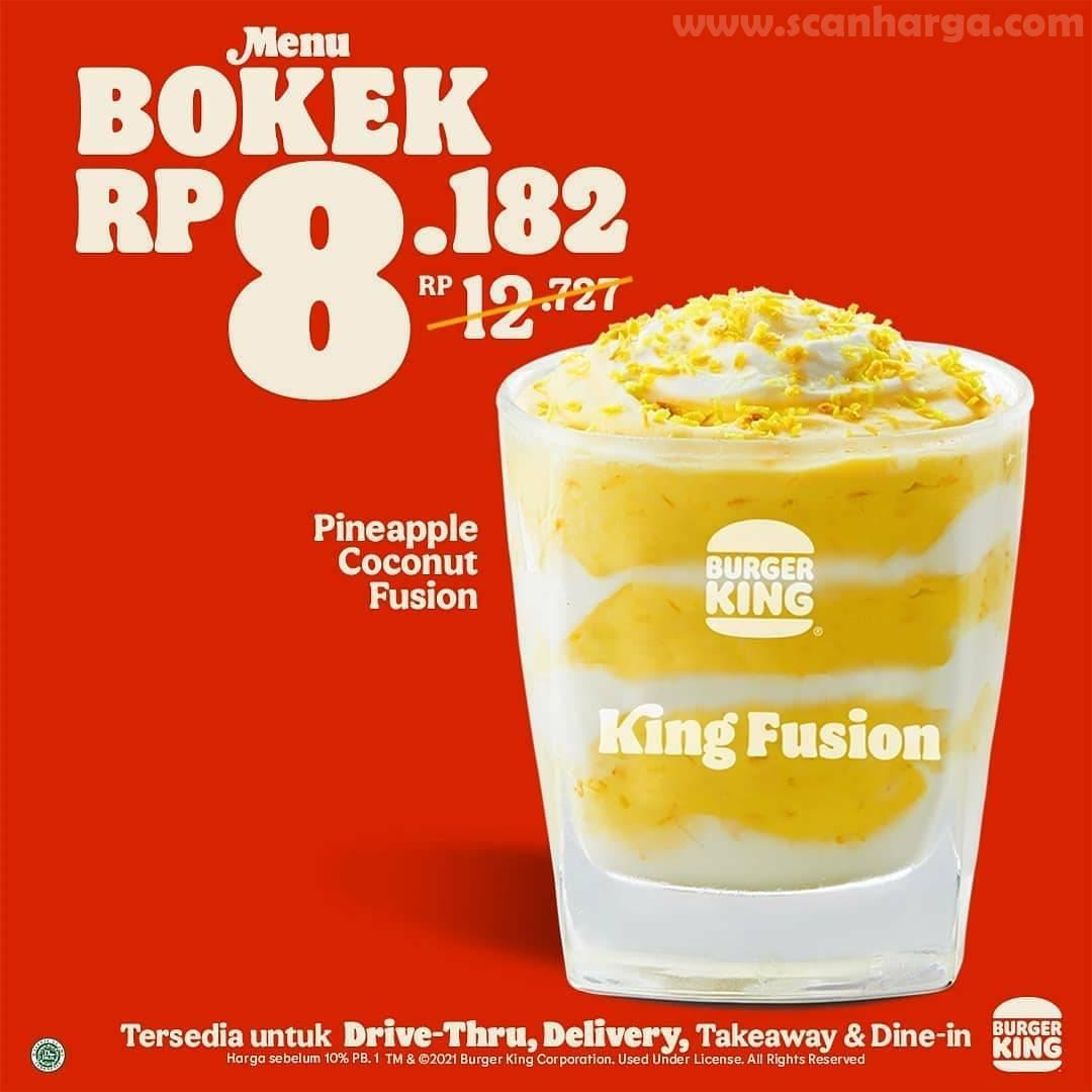 Promo BURGER KING BTS Paket BOKEK 3