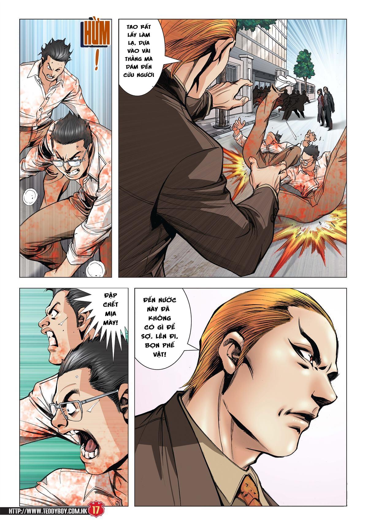 Người Trong Giang Hồ chapter 1997: triệu oánh vs đinh dao trang 15