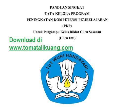 Download Buku Panduan Penggunaan Aplikasi SIMPKB Peningkatan Kompetensi Pembelajaran (PKP) dan Aplikasi Monev PKP untuk Guru Inti