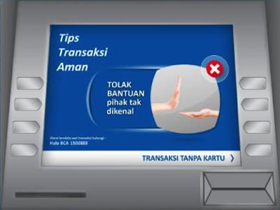 Gambar ATM BCA - hostze.net