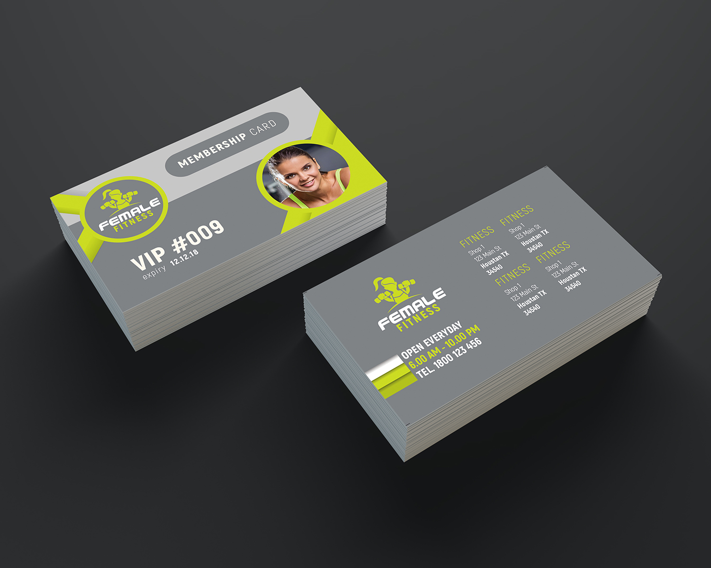 Fitness Business Cards Business Card Tips - Fitness business card template