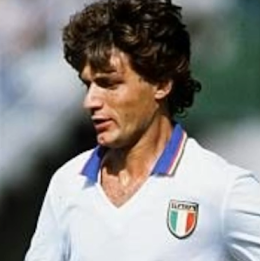Antognoni's skills helped Italy win the World Cup in Spain in 1982
