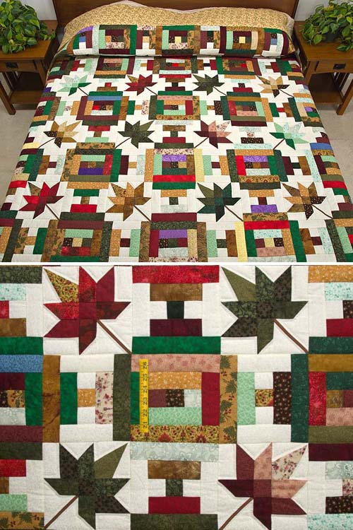Autumn at the Courthouse Quilt