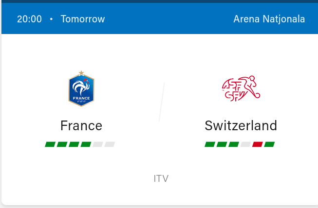 France vs Switzerland Preview and Predictions 2021
