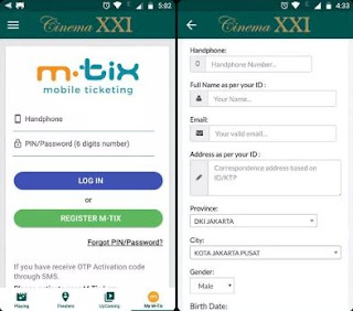 Cara Menggunakan M Tix