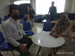 Menindak lanjuti pengaduan masyarakat Perwakilan KPK JABAR bersama IWO PD Sukabumi datangi RS.Betha Medika