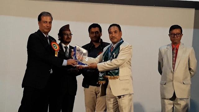 APJ Abdul Kalam outstanding principal award to BK Gurung Jnanpith School Mungpoo