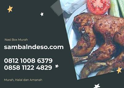 harga Catering Nasi Box Ayam Bakar Bintaro