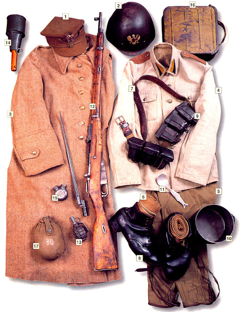 WW2 Military Uniform - Private, 1st Polish Army, Kolberg March 1945