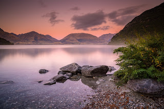 Bobs Cove, Queenstown, Sunrise, Laurie Winter