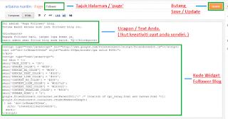 ringankan loading blog - code widget follower